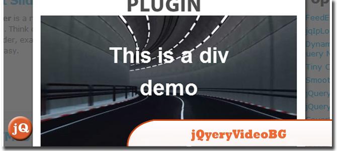JQUERY.VIDEOBG