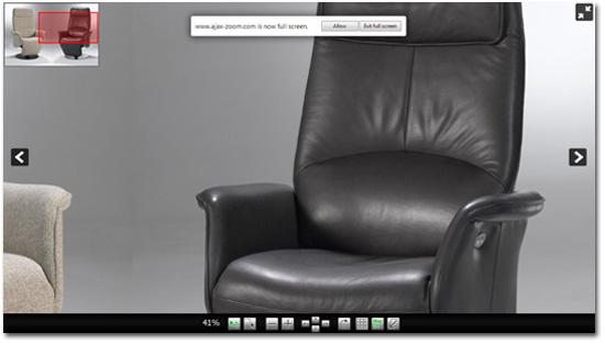 Ajax-Zoom FullScreen