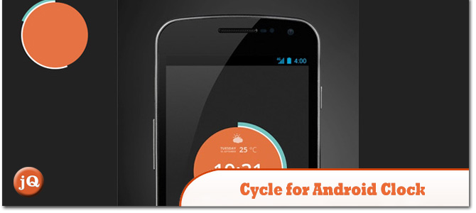 Cycle-for-Android-Clock